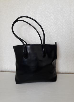 Кожаная сумка furla винтаж оригинал
