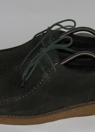 Качественные туфли-мокасины 38р ст.24,5см c9