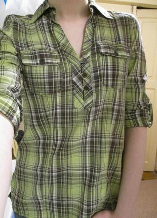 Рубашка клетчатая cache cache