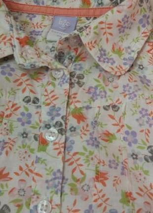 Комплект набор блузка футболка и шорты на 6-9 мес и дольше5 фото
