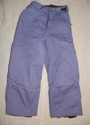 Зимние брюки pleasure - р. 128