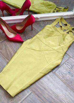 Бандажное платье missguided размер s