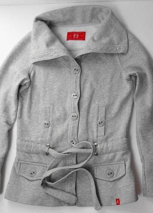 Edc. трикотажный пиджак спортивного стиля. м размер.