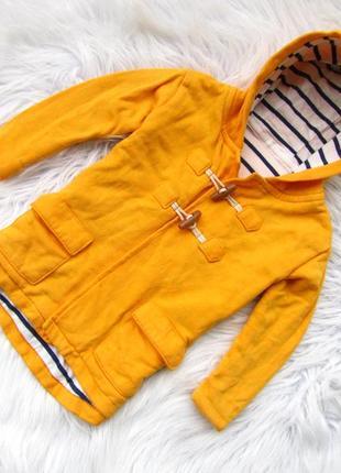 Стильная кофта реглан  пальто с капюшоном marks & spencer.