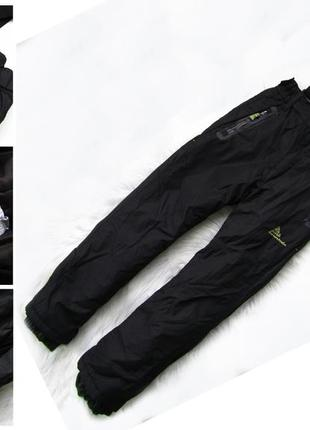 Стильные и крутые зимние лыжные  штаны брюки полукомбинезон peak mountain