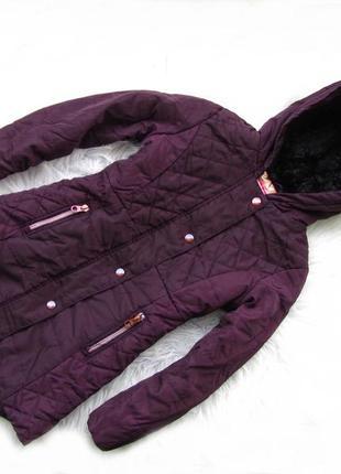 Стильная теплая  куртка парка с капюшоном baker by ted baker
