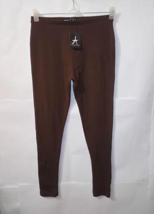 Новые коричневые хлопковые лосины atmoshere uk 10/38/s