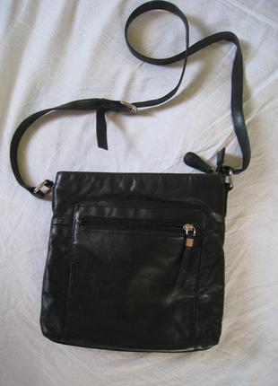 Кожаная сумка jones bootmaker, оригинал!!!