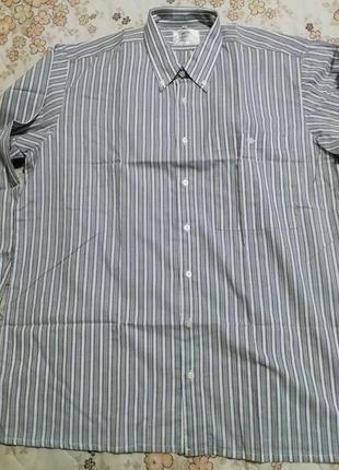 Рубашка  мужская aureliobaldi размер xl-50-42 ворот 43
