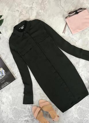 Комфортное платье-рубашка  dr1909131  h&m