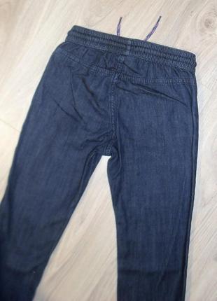 Джинсовые брюки на 5-6лет2