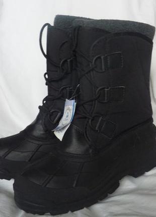 Фирменные термо ботинки 41р, новые, crane, с валенком, теплые