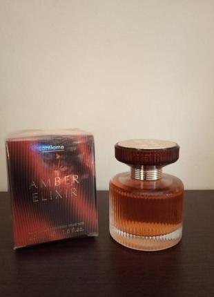Парфумована вода amber elixir + подарок