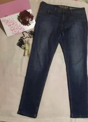 Женские джинсы синии indigo брюки штаны