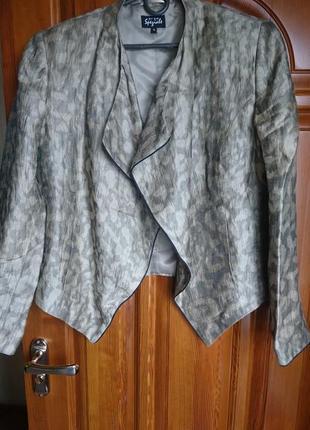 Пиджачок peruna лен+вискоза (код в106)