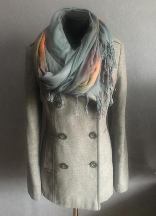 Пальто для девушек + шарф ( в подарок)