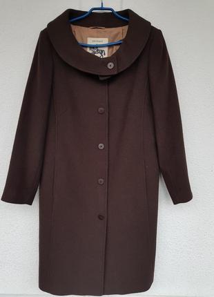Пальто деми шерстяное, шерсть 70%