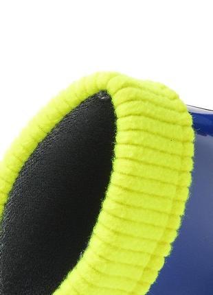 Резиновые сапоги demar синие twister lux fluo2 фото
