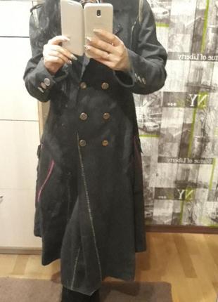 Mafuthefra cois girbaud пальто из тонкой шерсти,не колится.