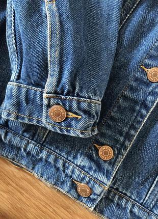 Джинсовая куртка джинсовка monki оверсайз xs-s