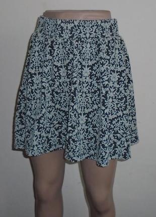 Фактурная юбка в орнамент/спідниця1 фото