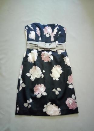 Новое платье без бретелей размер uk 8