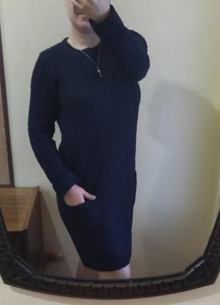 Вязаное платье атм