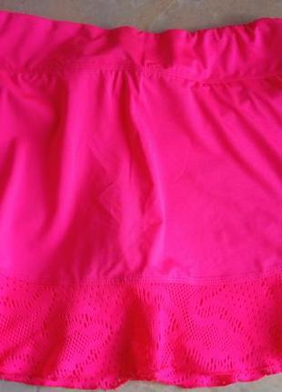 Спортивная юбка с шортами fila