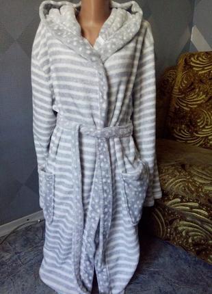 Фирменный плюшевый халат