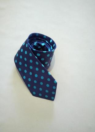 Шёлковый дизайнерский галстук