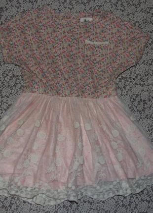 Платье нарядное 12-18мес некст