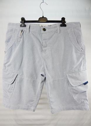 Мужские летние шорты в полоску