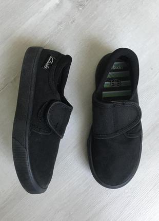 Тканевые туфли, кеды clarks