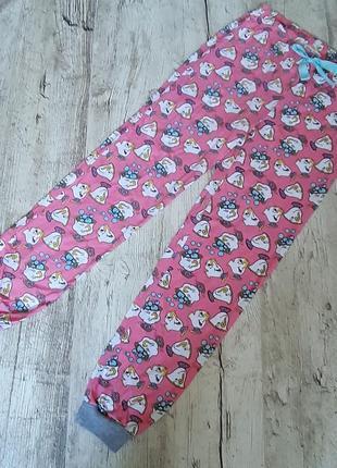 Пижамные штаны,брюки для сна ,мультяшный принт disney