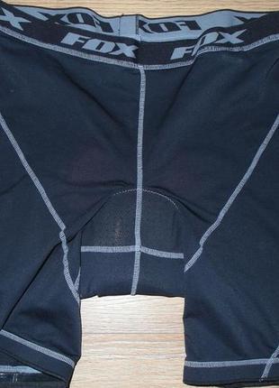 Вело білизна fox racing padded mesh tights
