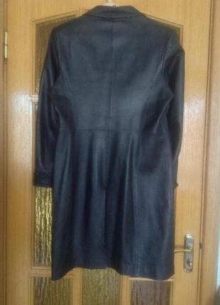 Кожаный плащ/куртка, 58 р