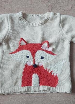 Плюшевый свитер george