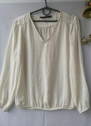 Фирменная блузочка в бельевом стиле