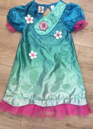 Костюм, платье тролли принцессы розочки