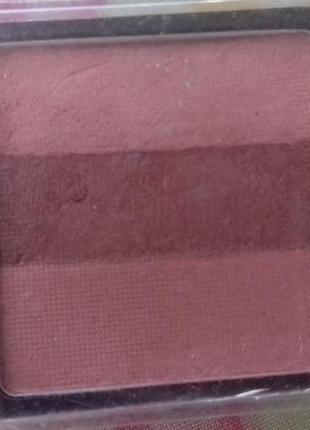 Стойкая тройная розовая румяна для лица marks spencer