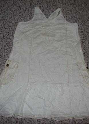 Платье хб 13-14лет зара