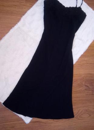 Шикарное платье - комбинация от debut