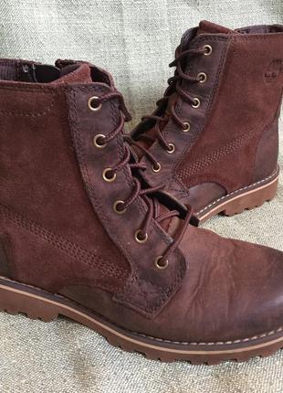 Ботинки деми timberland оригинал р.34,5