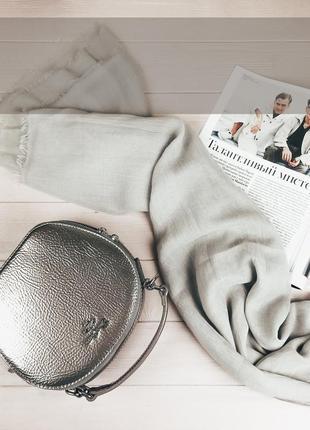 Стильная новинка от французского бренда david jones лаковая кругляшка круглая сумка клатч