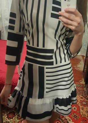 Необычное платье асимметрия италия