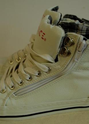 Высокие кеды ботинки venice