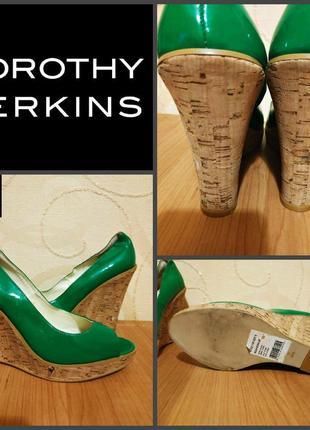 Туфли на платформе от dorothy perkins, оригинал р. 39 (uk6)