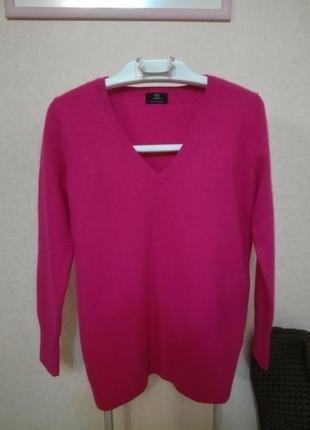 Пушистый кашемировый свитер джемпер пуловер f&f, р.12 (10/14)