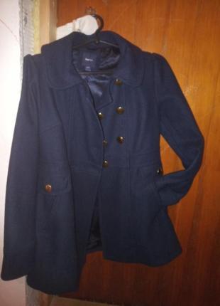 Пальто, драповое натуральное