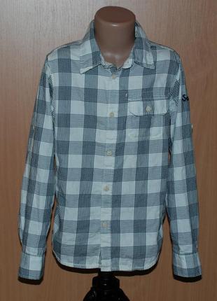 Рубашка на мальчика бренда h&m /100%cotton/
